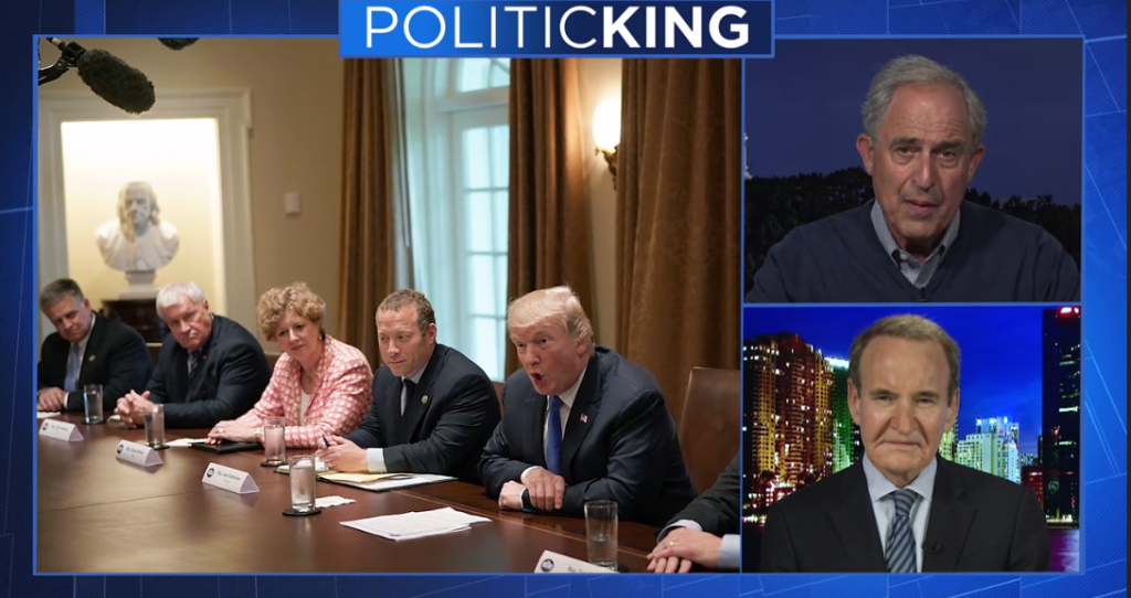 Kendall Coffey, Larry King, PoliticKING, Trump